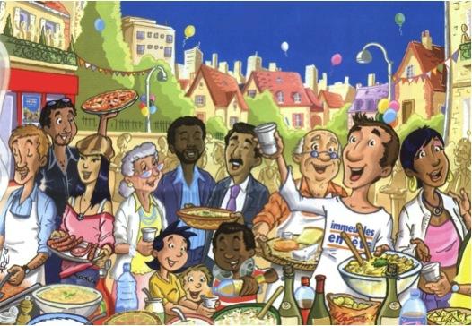 repas de quartier