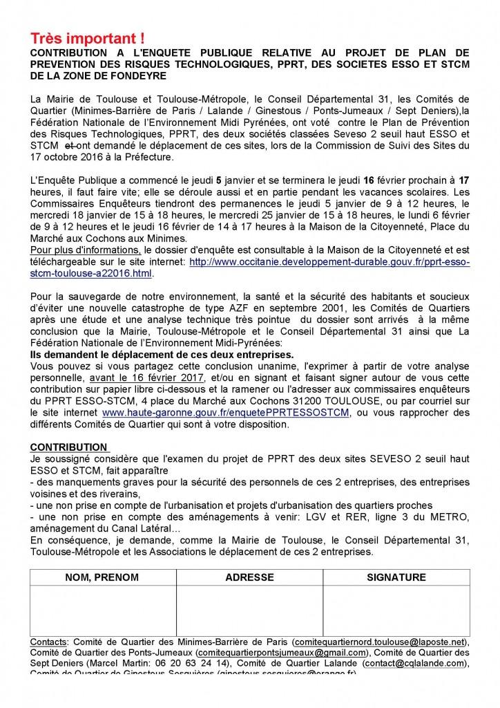 contribution habitants JANVIER 2017