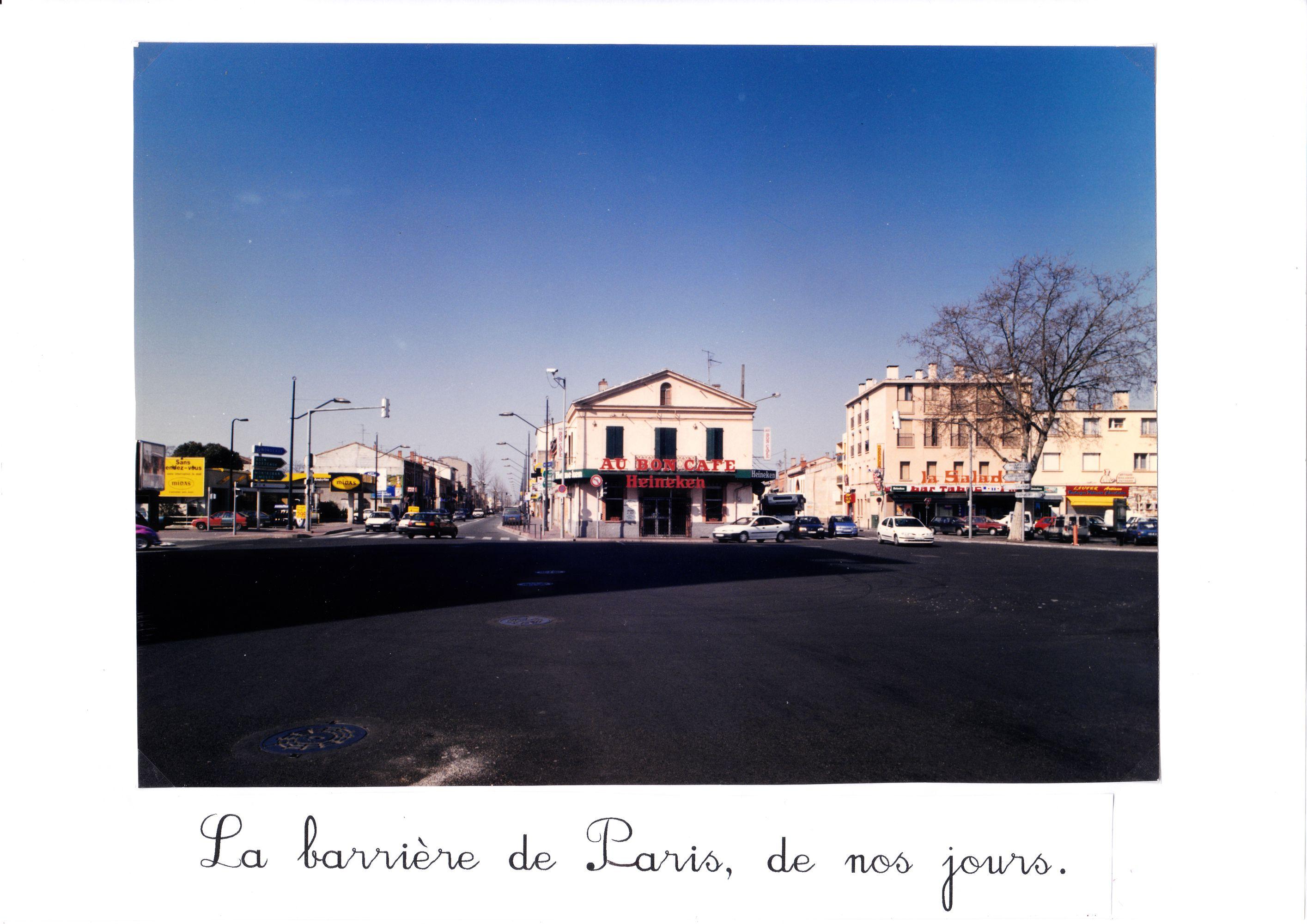 Barrière de Paris années 80 _R2