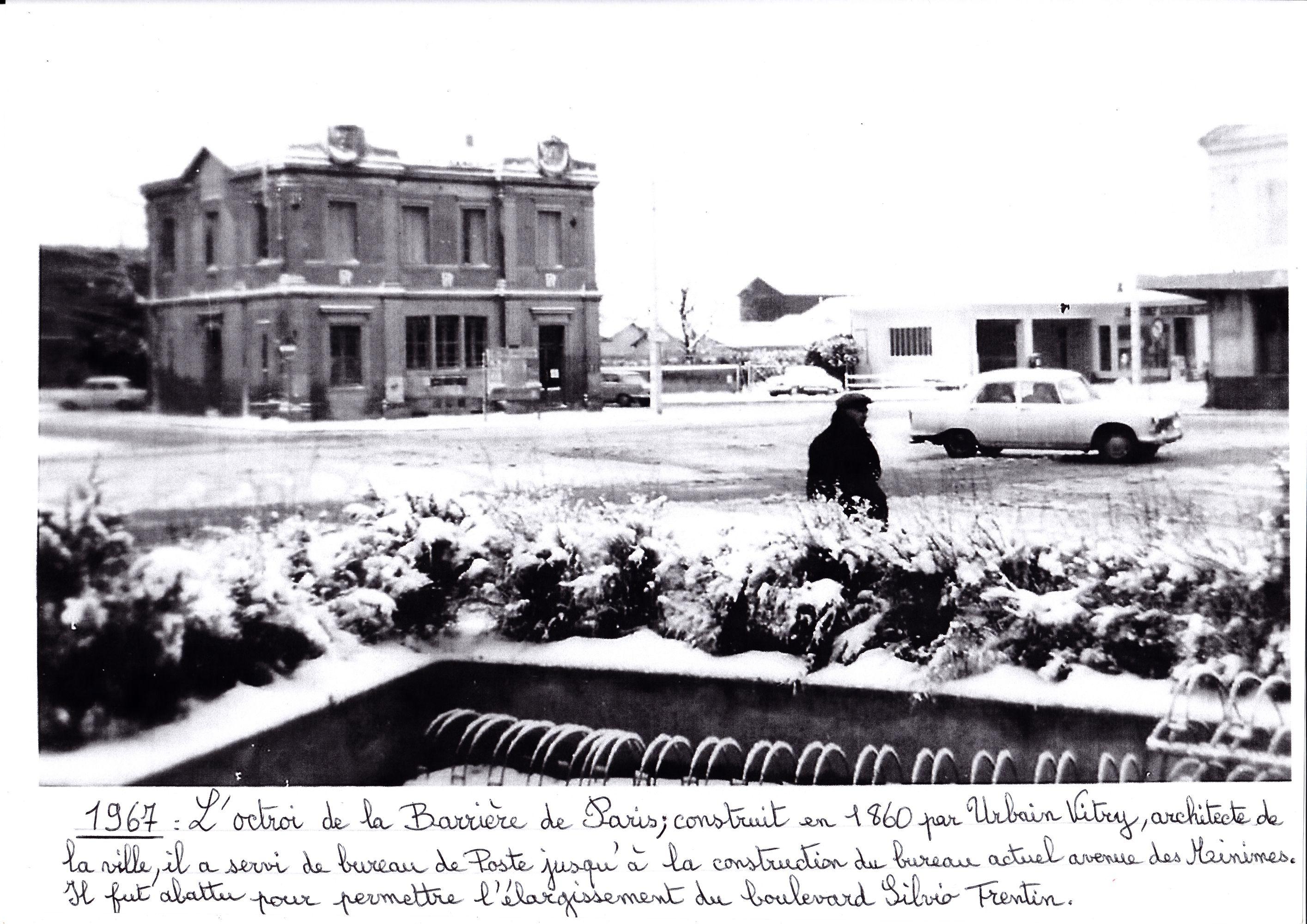 l'Octroi de la Barrière de Paris 1967_R2