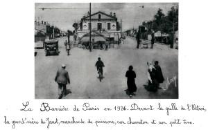 Barrière de Paris 1936