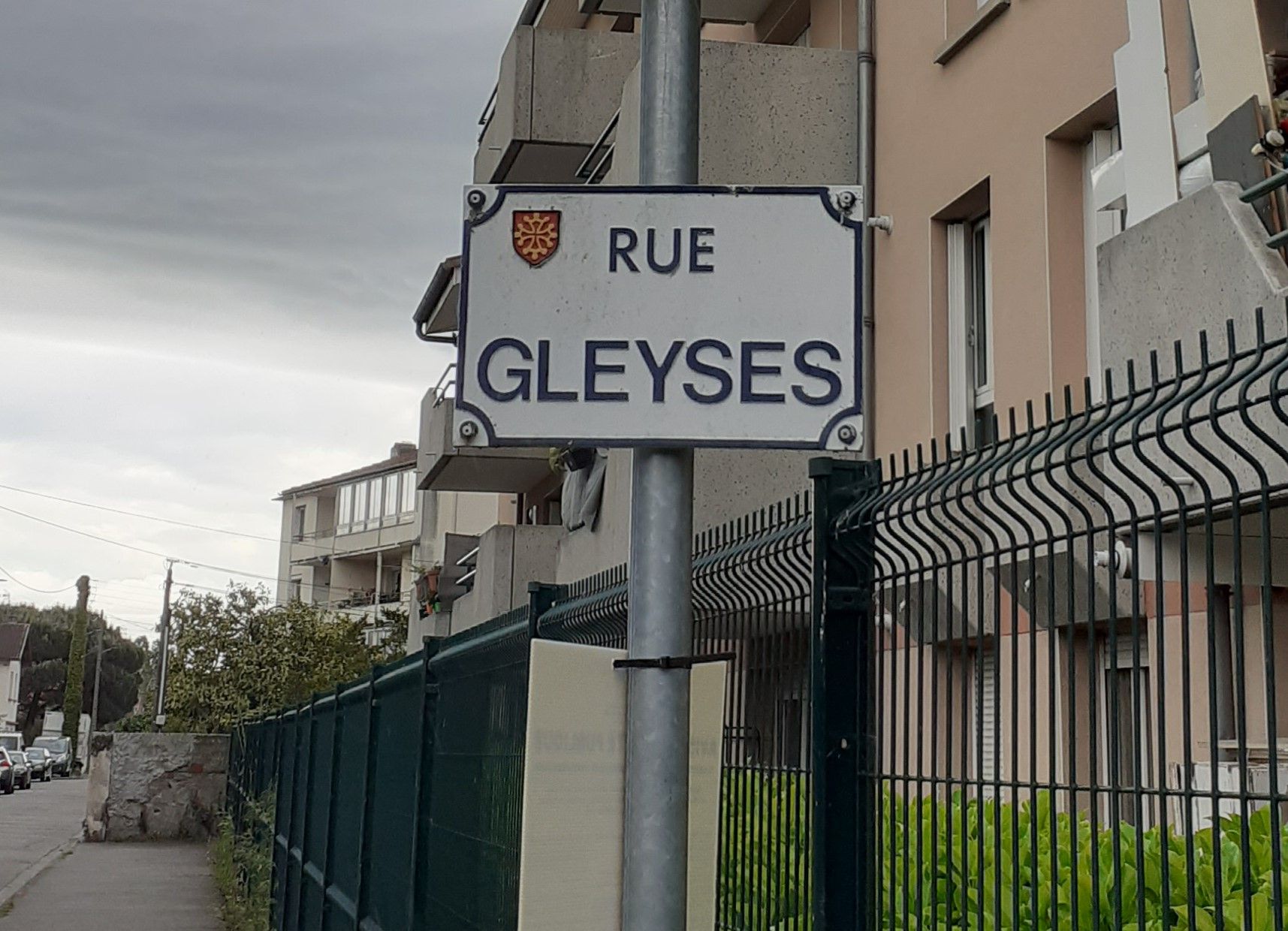 Panneau Rue Gleyzes