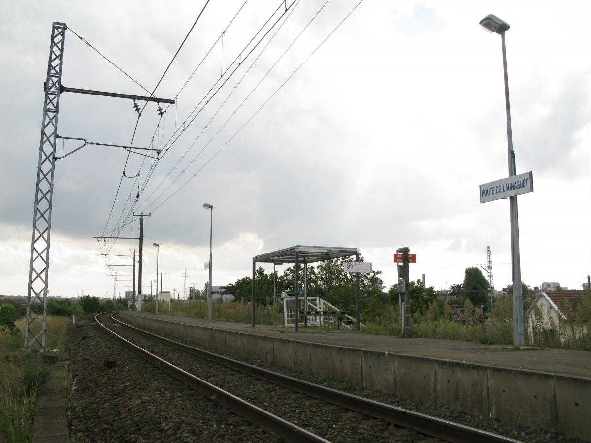 Station TER de Launaguet