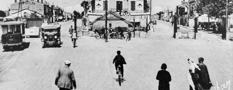 Barrière de Paris 1936 (le tram à gauche)